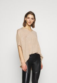 Vero Moda - Basic T-shirt - birch melange - 0