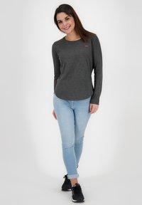 alife & kickin - LEAAKA - Long sleeved top - moonless - 1