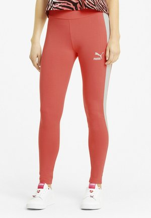 ICONIC T7  - Leggings - sun kissed coral