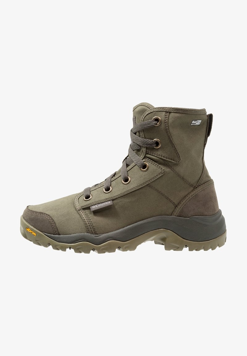 Columbia - CAMDEN OUTDRY CHUKKA - Hiking shoes - nori/grey