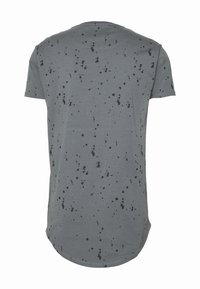 SIKSILK - SPLATTER GYM TEE - T-shirt con stampa - grey - 5