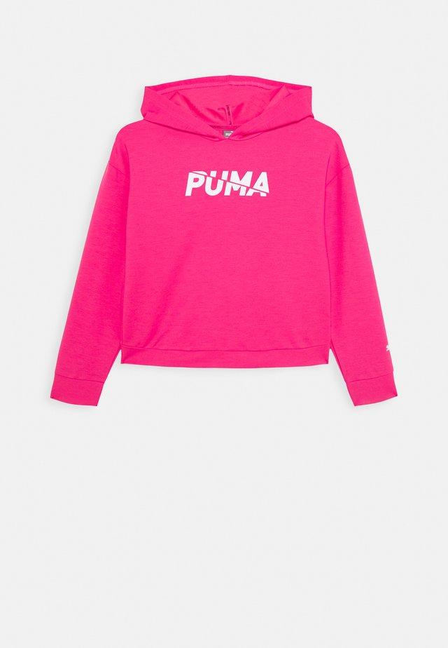 MODERN SPORTS HOODIE - Hoodie - glowing pink