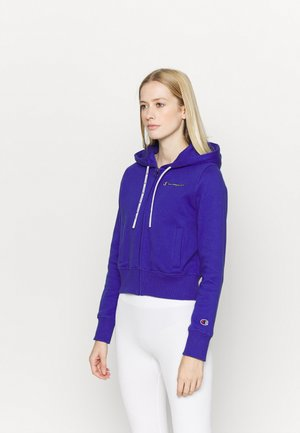 HOODED FULL ZIP - Collegetakki - royal blue