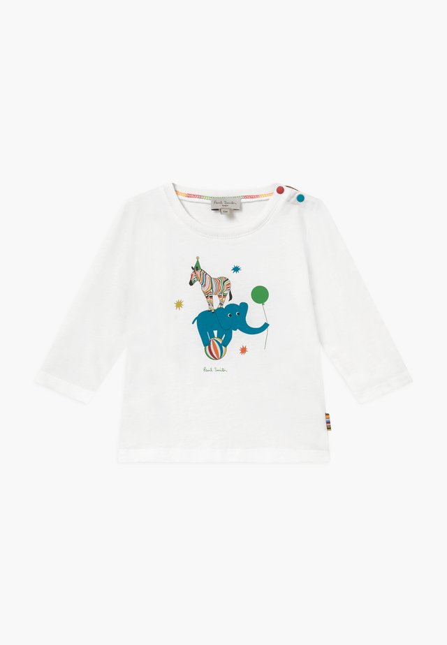 BULLO - Long sleeved top - white
