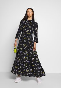 YAS - YASSAVANNA LONG DRESS - Maxikjole - black - 1