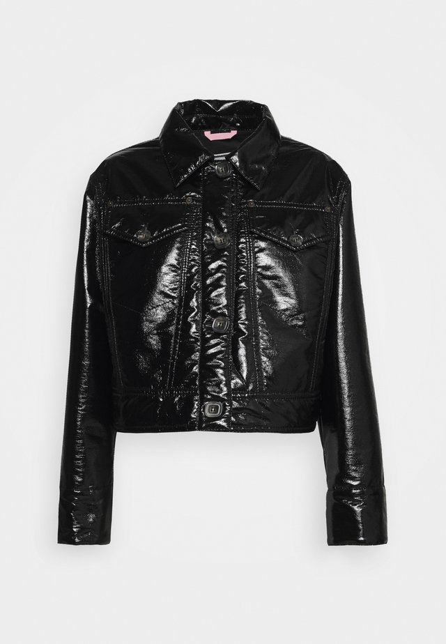SPORT JACKET - Giacca in similpelle - nero