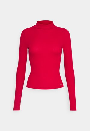 MOCK - Long sleeved top - red