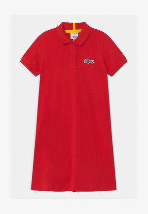 LACOSTE X NATIONAL GEOGRAPHIC - Day dress - red