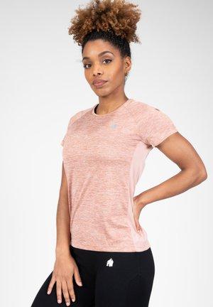 MONETTA PERFORMANCE  - T-shirt print - pink