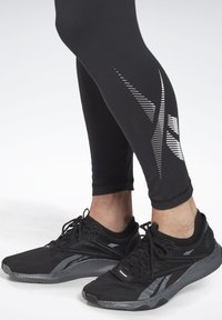 Reebok - THERMOWARM TOUCH BASE LAYER BOTTOMS - Tights - black - 3