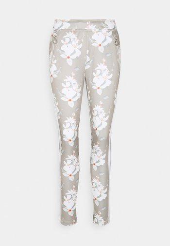 AHOKAS - Trousers - cement