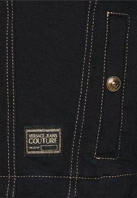 Versace Jeans Couture - LADY JACKET - Denim jacket - black - 5