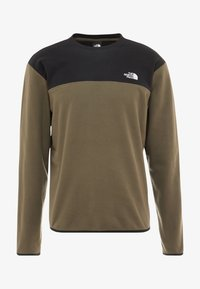 The North Face - GLACIER CREW - Fleecetrøjer - new taupe green/black - 3