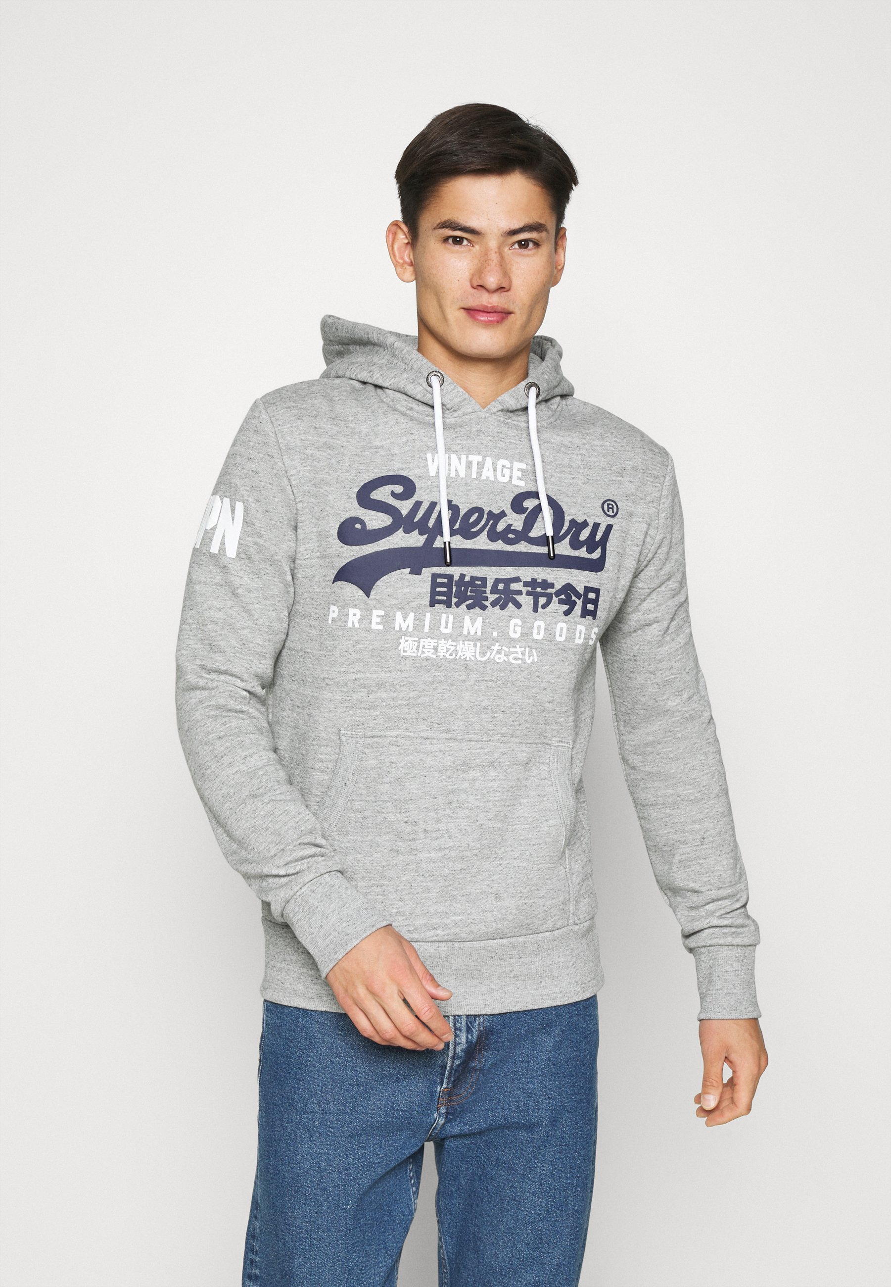 Homme HOOD - Sweat à capuche - grey