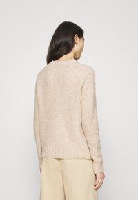 ONLY - ONLOLIVIA O NECK - Maglione - nude - 2