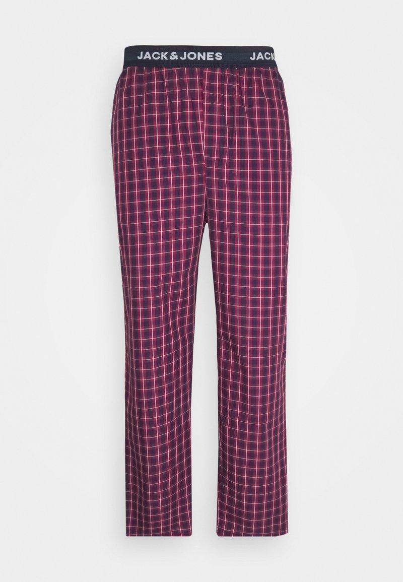 Jack & Jones - JACRED CHECK PANT - Pyžamový spodní díl - red bud