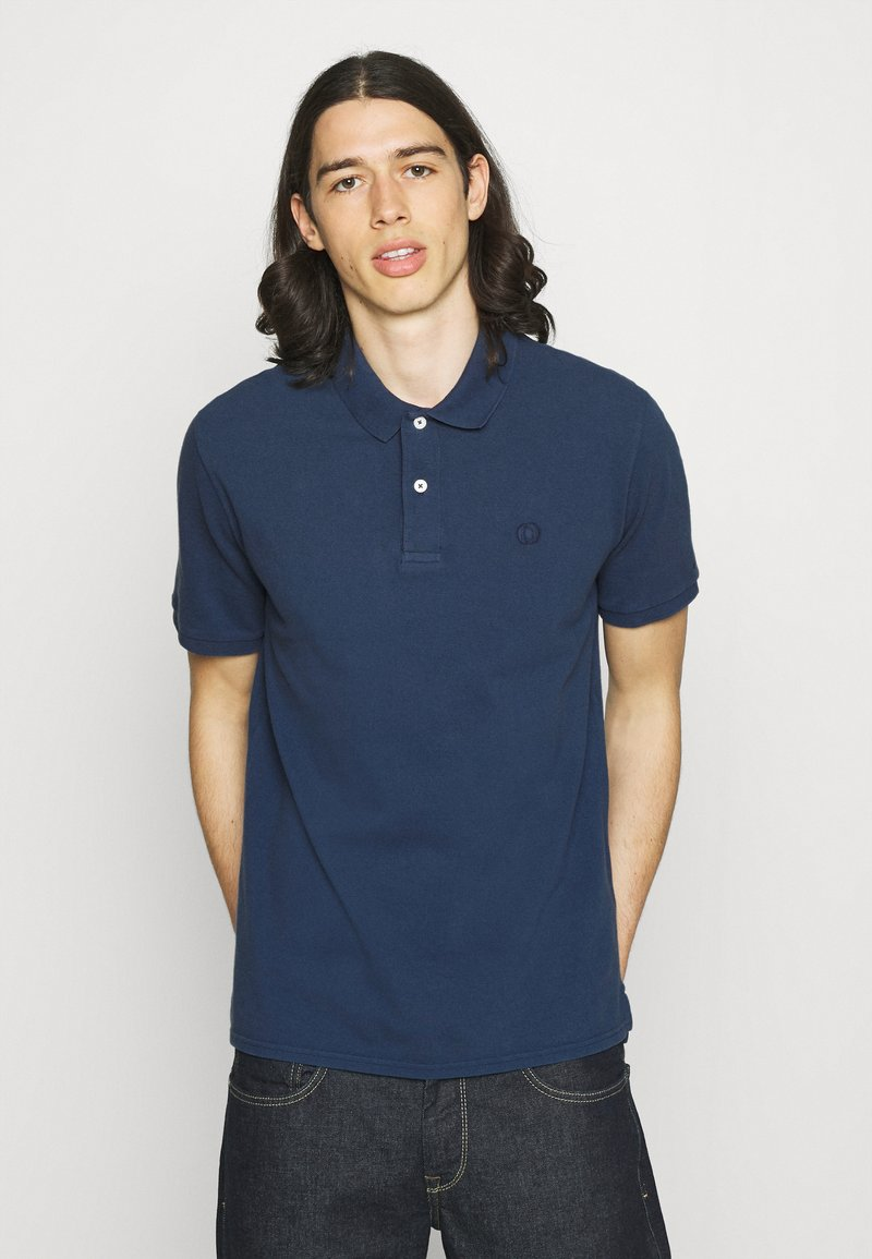 Ecoalf - TED REGULAR MAN - Polo shirt - navy