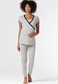 Esprit Maternity - MIT PRINT - Nattøj trøjer - light grey melange - 1
