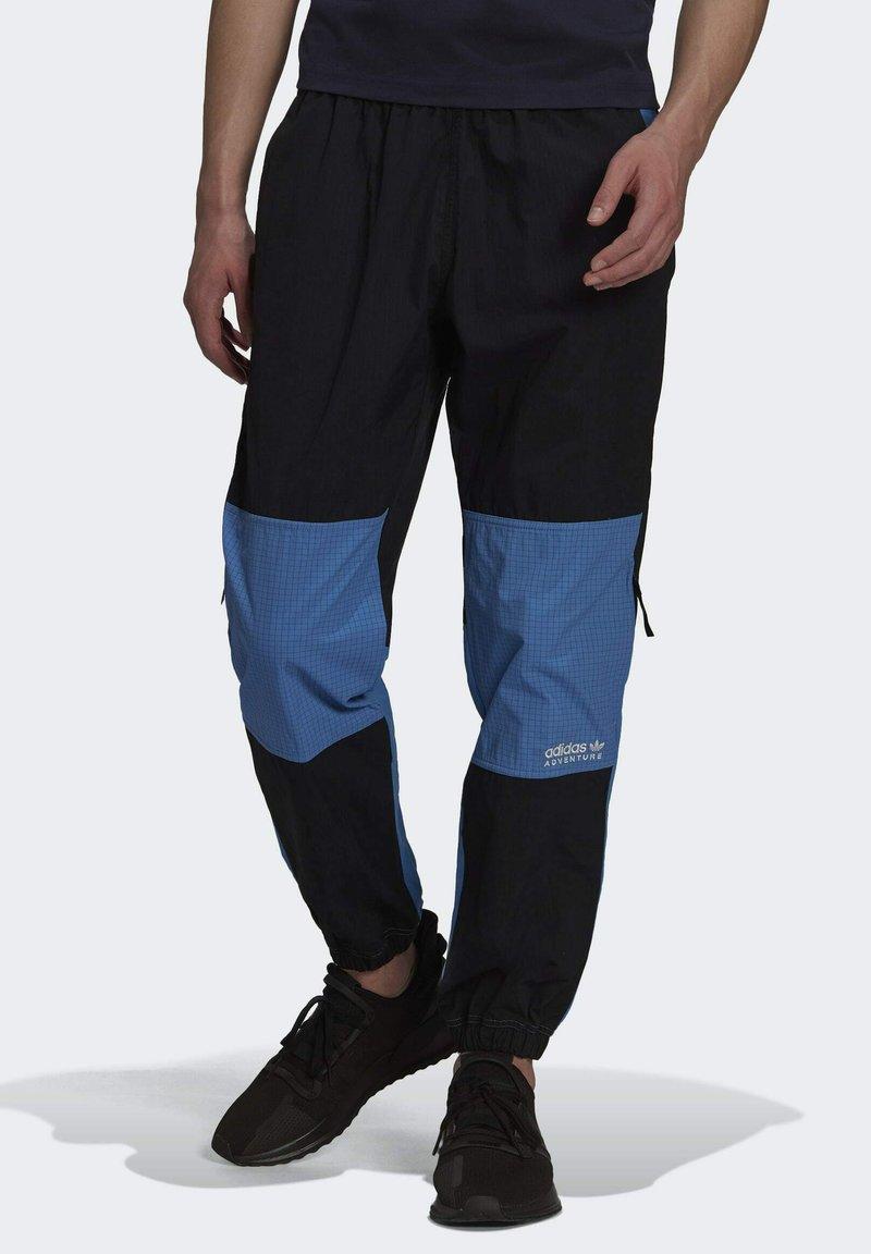 adidas Originals - Pantaloni sportivi - black/blue