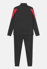 adidas Performance - SET UNISEX - Survêtement - black/vivid red/white - 1