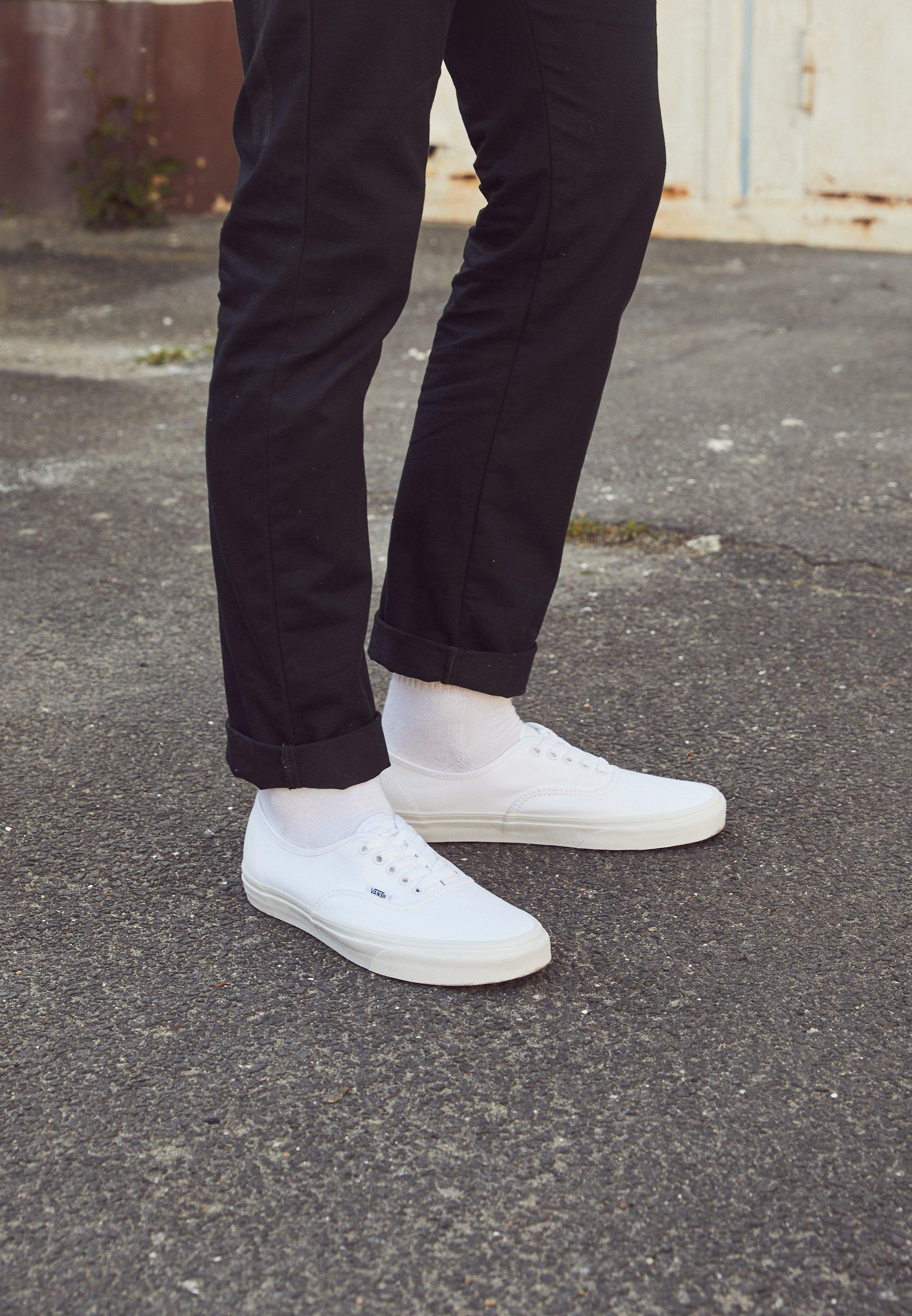 Vans AUTHENTIC - Baskets basses - true white/blanc - ZALANDO.FR