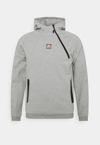 RALLA ZIP HOODY - Sweatshirt - grey marl