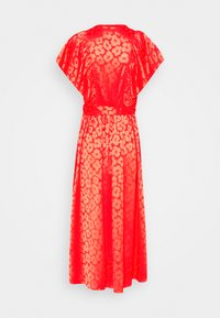 kate spade new york - POPPY FIELD JACQUARD DRESS - Day dress - red - 1