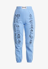 NEW girl ORDER - WHAT'S YOUR SIGN JOGGERS - Pantalon classique - blue - 3