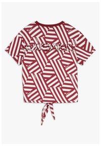O'Neill - MIT KNOTEN - T-shirt print - cabernet - 1