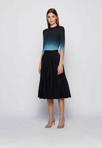 BOSS - A-line skirt - open blue - 1