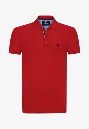MEN'S POLO SHIRT - Polo shirt - rot