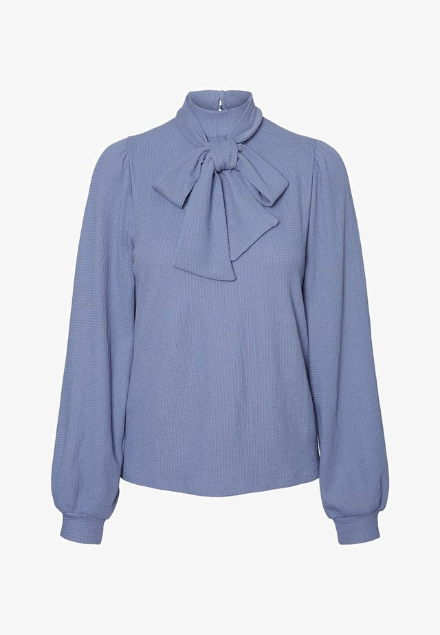 Blouse - blue ice