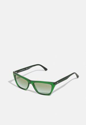 Sunglasses - gradient green
