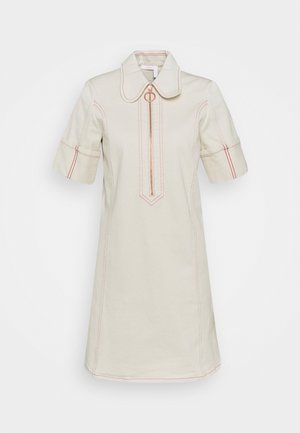 Shirt dress - buttercream