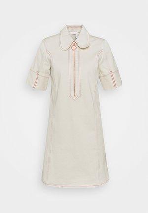 Robe chemise - buttercream