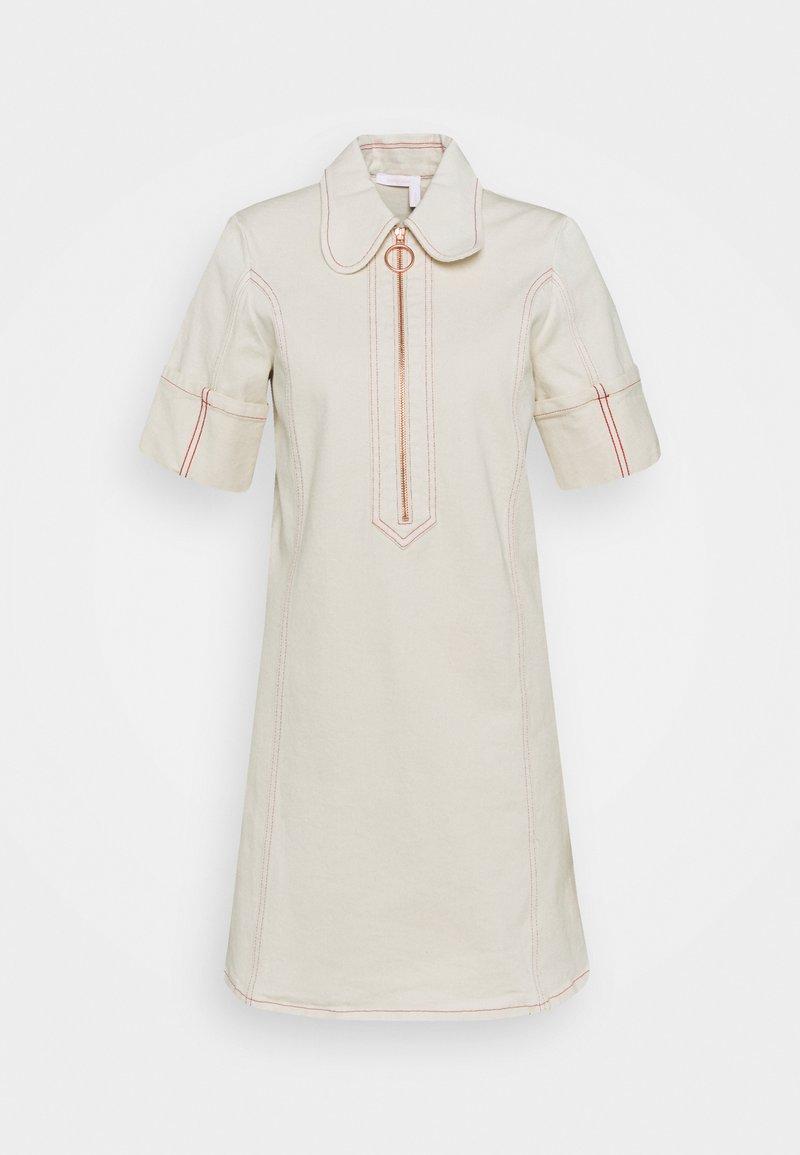See by Chloé - Shirt dress - buttercream