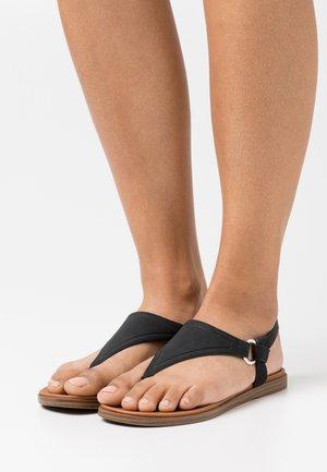 ZOLLIE - Sandály s odděleným palcem - black