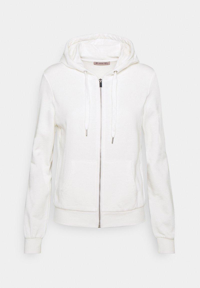 Anna Field - Zip-up sweatshirt - off-white