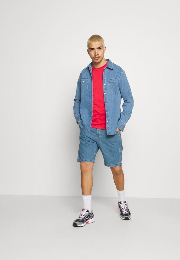 Lee CARPENTER - Szorty jeansowe - blue/niebieski Odzież Męska LUXT