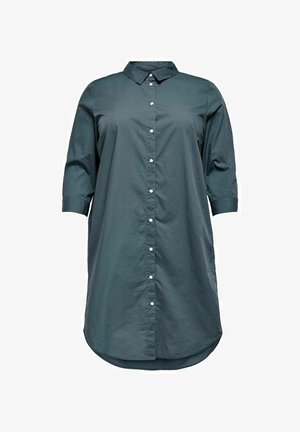 CURVY LANG - Button-down blouse - ombre blue