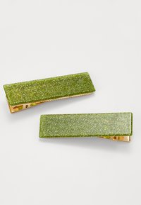 Valet Studio - CLEMENTINE CLIPS 2 PACK - Hair Styling Accessory - green - 2