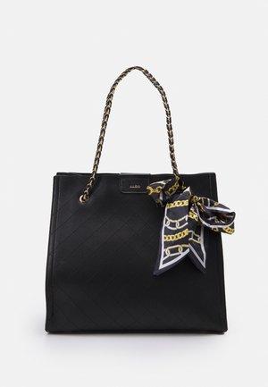 DEGANWY - Handbag - black/gold