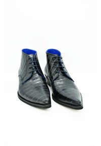 Fertini - Lace-up ankle boots - metallic gray - 2