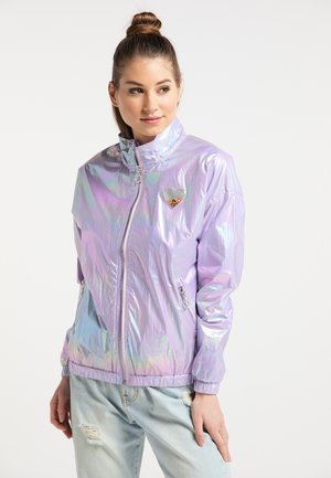HOLOGRAPHIC  - Summer jacket - flieder holografisch
