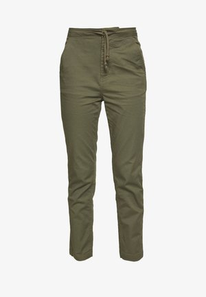 WOVEN HIGH WAIST PULL ON PANT - Pantalon classique - field surplus