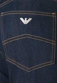 Emporio Armani - POCKETS PANT - Flared Jeans - denim blu - 2