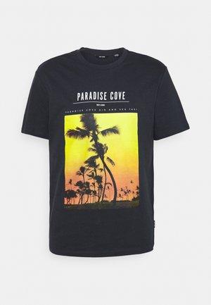 ONSPASMAL LIFE TEE - T-shirt print - dark navy