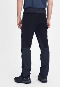 Mammut - ZINAL  - Długie spodnie trekkingowe - black - 1