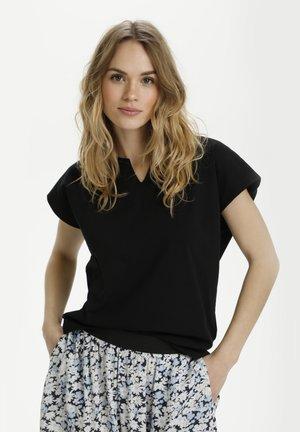 KADANA LINDA - Basic T-shirt - black deep