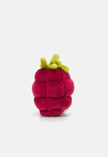FABULOUS FRUIT RASPBERRY UNISEX - Pehmolelu - red